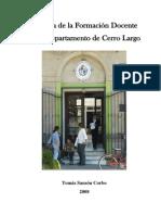 Historia de La Formacion Docnte en Durazno