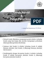 P III (Gerak Relatif & Pusat Sesaat)
