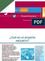 Diseño de un proyecto educativo