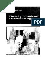 CIUDAD Y URBANISMO FINALES S.XX López de Lucio