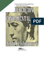 Revolucion Fundamental La Krishnamurti