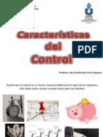 Características y tipos de control