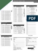 SwissPlus Order Form