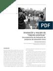 3. Innovacion y Rescate de Mejores Practicas