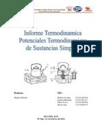 Informe Termodinamica Unidad I