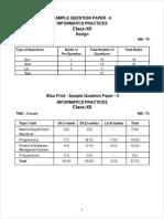 Cbse Class 12 Informatics Practices Sp 2011 Model 2