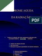 SÍNDROME AGUDA DA RADIAÇÃO - apresentação em PowerPoint
