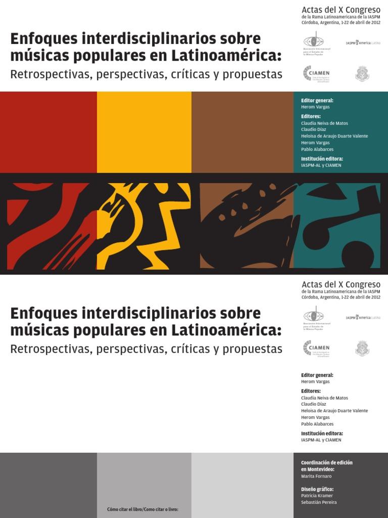 ef8856fe0fd ¿Enfoques interdisciplinarios sobre músicas populares en Latinoamérica   retrospectivas