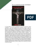 """Fragmentos del libro """"La conspiración de Cristo"""", de Acharya S"""