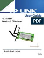 TL-WN851N User Guide