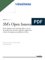 2011- 3M's Open Innovation (Baker)