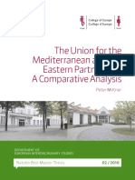 Union for the Mediterranian-Eastern Partnership - Comparative Analysis