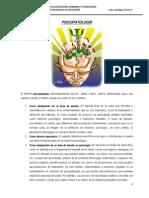 Psicopatologia Tercer Semestre Unach