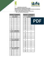 Ibfc 2013 Ebserh Tecnico Em Enfermagem Gabarito