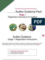 Stage 1 Registration Instructions for Auditors 19.12.11