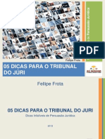 Persuasão Jurídica no Tribunal do Juri