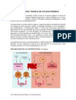 Dislipidemias Apunte Dr Bunout2006