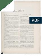 La Canne (Canne de Combat) - Charles Charlemont 1906