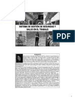 Sist. Gestion y Seguridad y Salud en El Trabajo