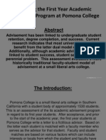 academic advising assessment poster final presentation