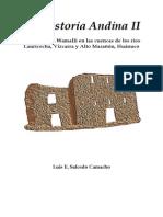 Praehistoria Andina 2 Wamalli - IsBN 978-612!00!0929-1 (Paginas Seleccionadas)-Libre