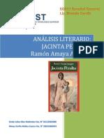 Analisis Literario Jacinta Peralta