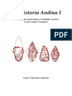 Praehistoria Andina 1 Lauricocha - IsBN 978-612!00!0892-8 (Paginas Seleccionadas)-Libre