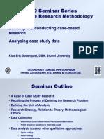 Analyzing Case Study Data