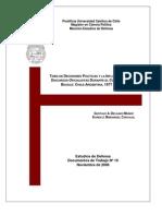 Toma de decisiones políticas y la influencia de los discursos oficialistas durante el conflicto del Beagle. Chile-Argentina, 1977-1979
