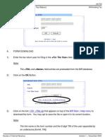 Job Aid for Form 1701-Offline