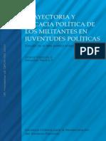 Trayectoria y eficacia política de los militantes en juventudes políticas