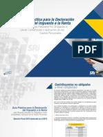 Guia Practica Para Declaracion de Impuesto a La Renta 2014