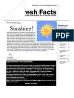 Fresh Facts October 2009