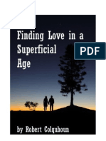 Finding Love in a Superficial Age