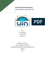 Laporan Praktikum Kimia Organik Sintesis Asam Oksalat dari Sekam Padi