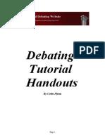 Debating Tutorial Handouts