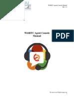 WebRTC Agent Console