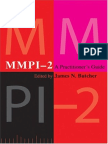 James N. Butcher-Mmpi-2 A Practitioner's Guide