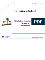 2ef27Distribution & Logistics Management Module 1