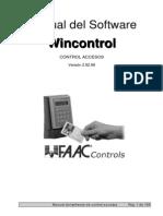 Manuale Wincontrol ESP