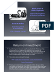 ETIS09 - Black Swans and White Elephants - RoI in Business Intelligence