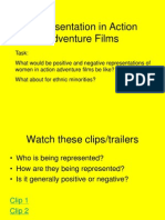 Representation in Action Films
