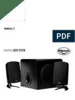 Klipsch ProMedia 2.1