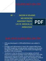 a14e2010 Guidelines on Cpr (Aha)