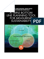 A Triple Bottom Line Planning Tool for Measuring Sustainability