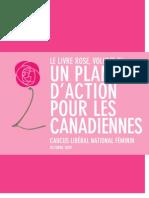 Le livre rose vol. 3   Caucus libéral national féminin