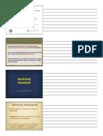Module 3 NOTES (Examining Curricular Standards)
