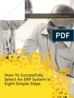 8 Steps to Select an Erp System