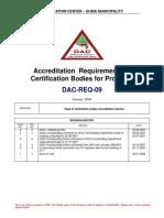 DAC Regulations