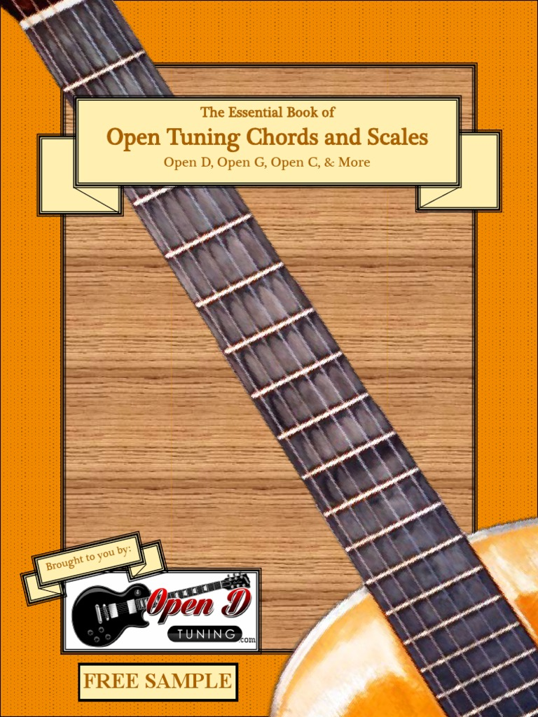 The Essential Book Of Open Tuning Chords And Scales Samplev2pdf